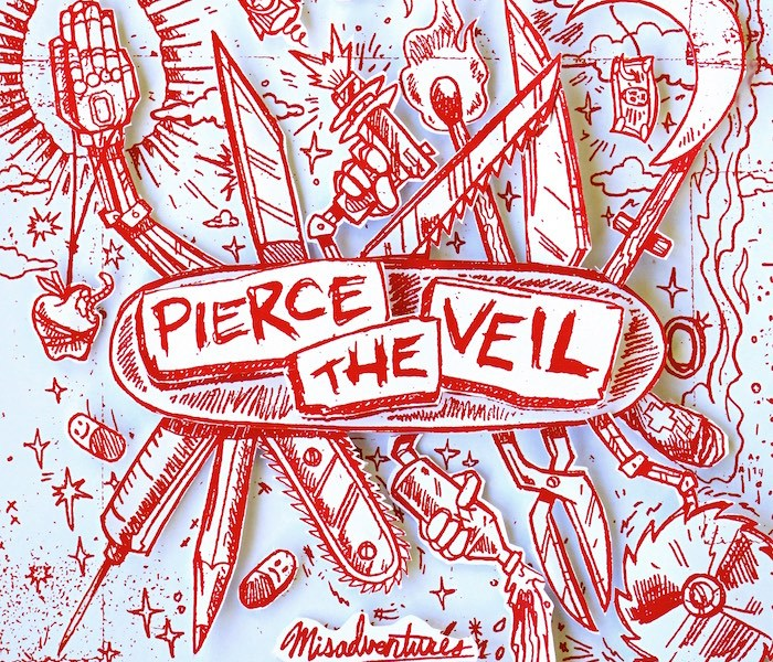 Pierce The Veil stream 'Misadventure' on Spotify