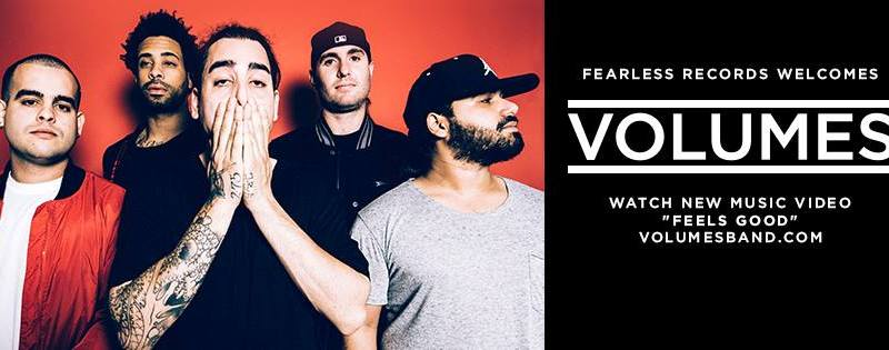 Volumes sign to Fearless Records