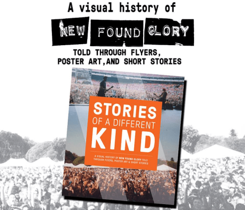 New Found Glory release new book, 'Stories Of A Different Kind'