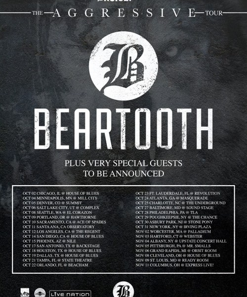 Beartooth announce fall American tour
