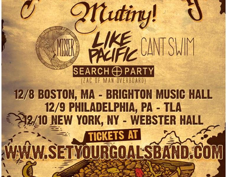 Set Your Goals announce east coast Mutiny! 10-year anniversary tour dates