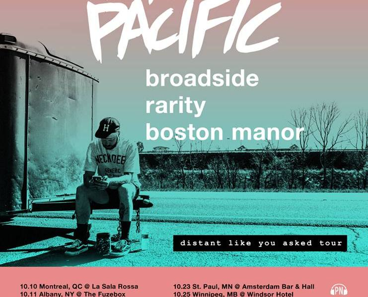 Like Pacific announce fall North American tour
