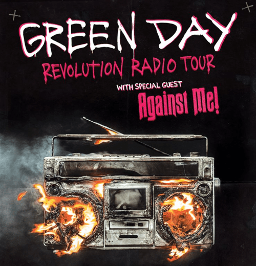 Green Day, Against Me! announce 2017 Revolution Radio tour