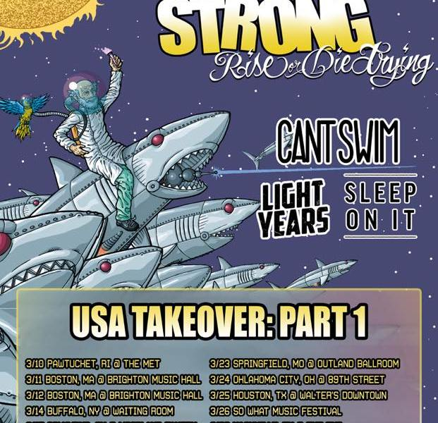 Four Year Strong announce 'Rise or Die Trying' tour