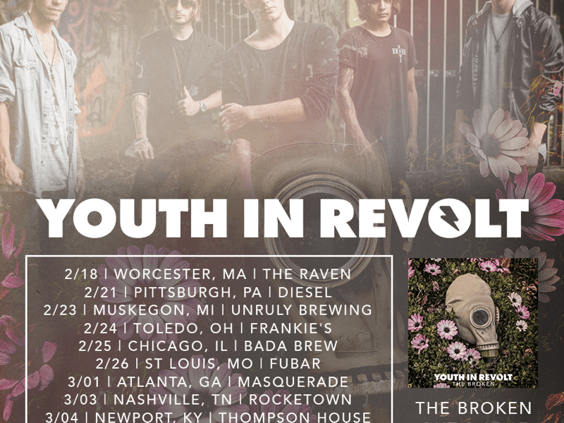 Youth In Revolt announce American tour