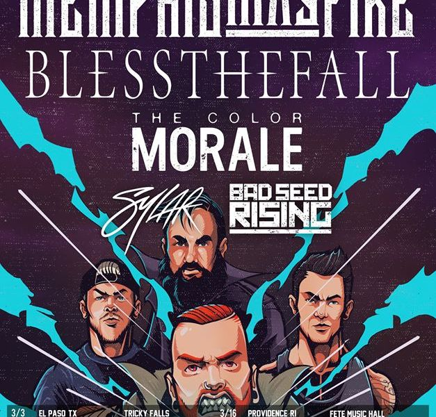 Memphis May Fire, Blessthefall announce March tour