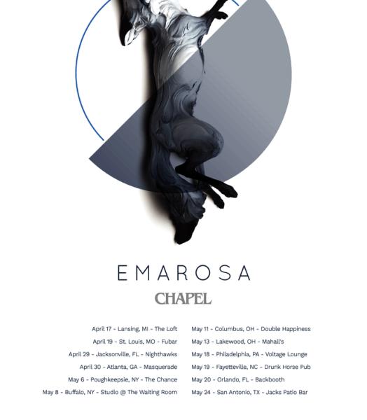Emarosa announce spring tour
