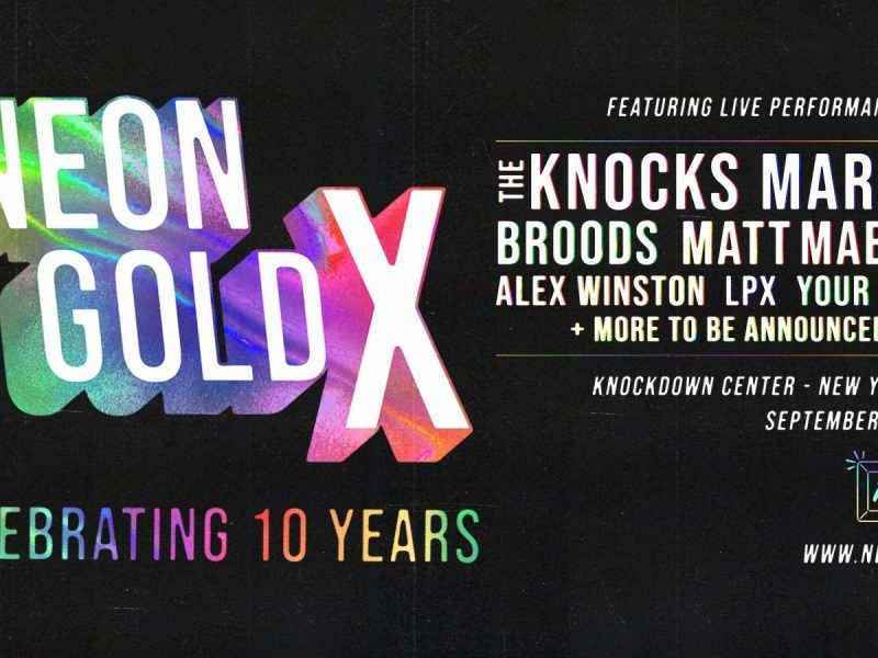 Broods and LPX added to Neon Gold X lineup