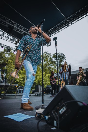 Trombone Shorty Laurel Live 10