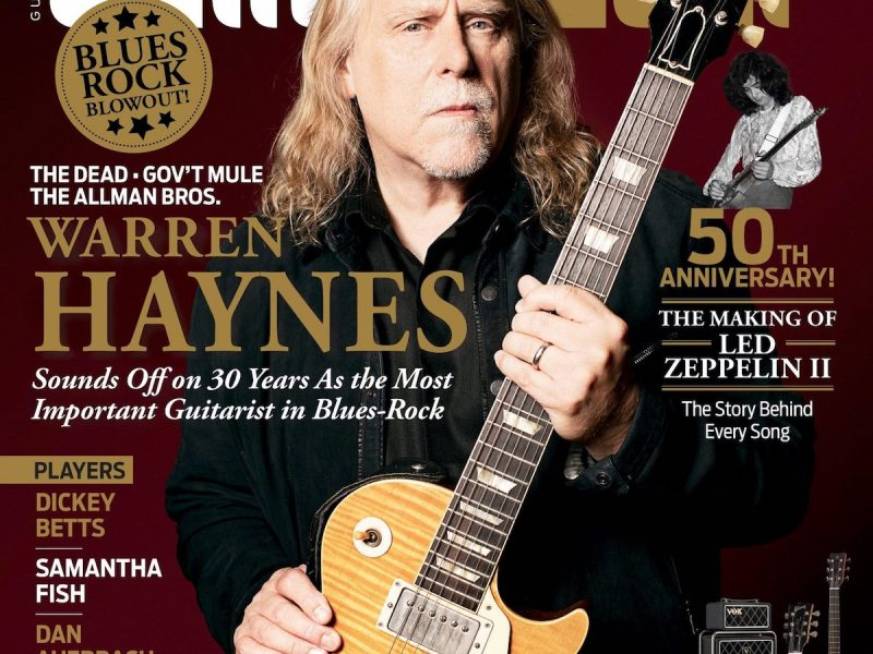 "Warren Haynes releases latest cut, Hard Working American's ""Stomp & Holler"", from upcoming live album"