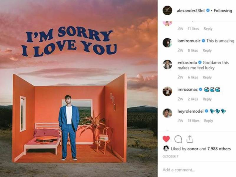 "Alexander 23 releases debut EP 'I'm Sorry I Love You' and new video for ""See You Later"""