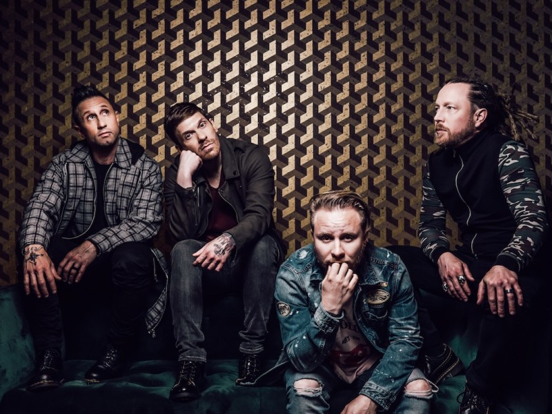 "Shinedown partners with humanitarian aid organization Direct Relief with release of new single ""Atlas Falls"""