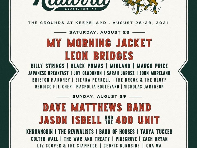 Railbird Festival announces line up for August 28th-29th at Keeneland in Lexington, KY