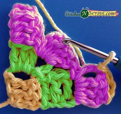 Tutorial - Diagonal Box Stitch | Stitches n Scraps