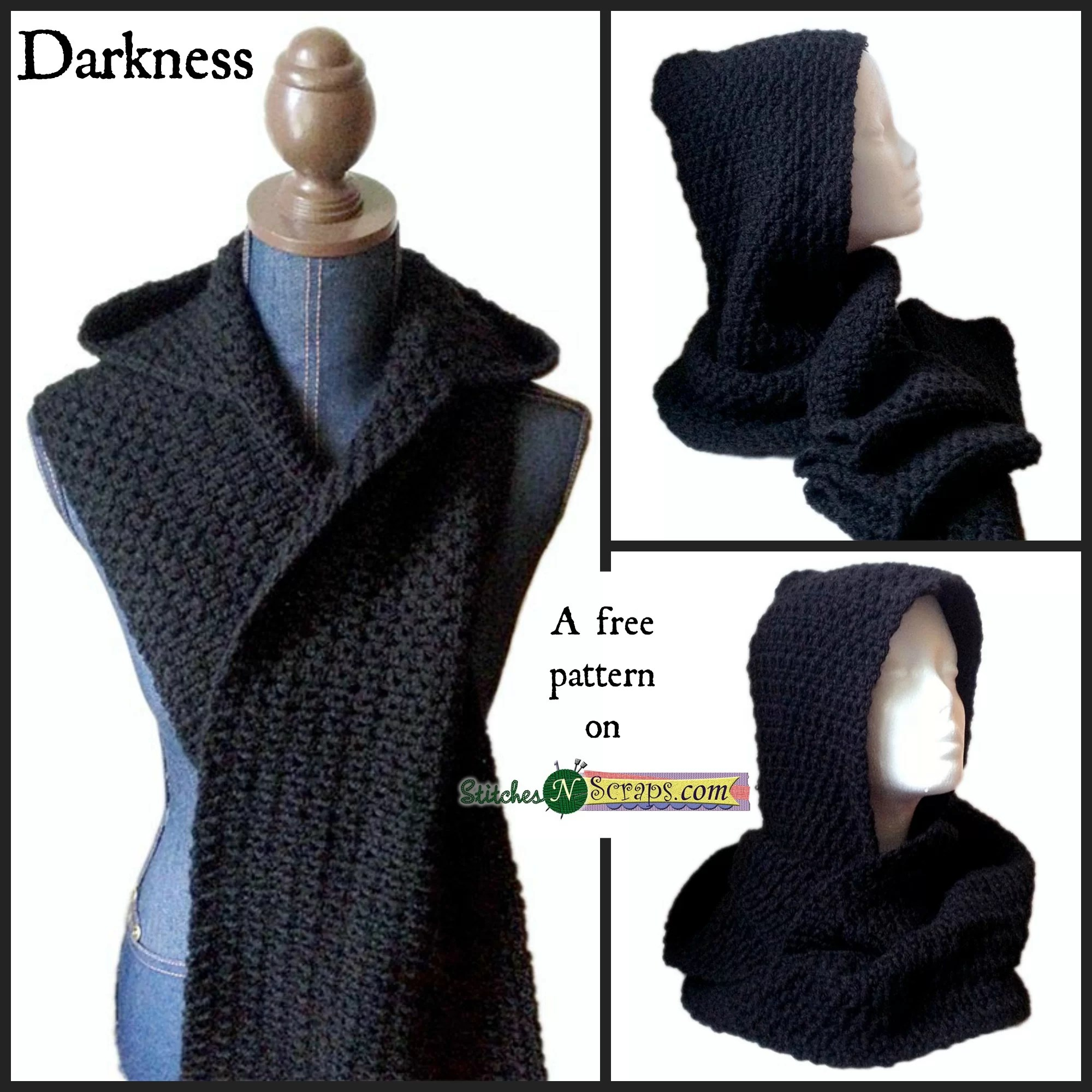 Free Pattern Darkness Stitches N Scraps
