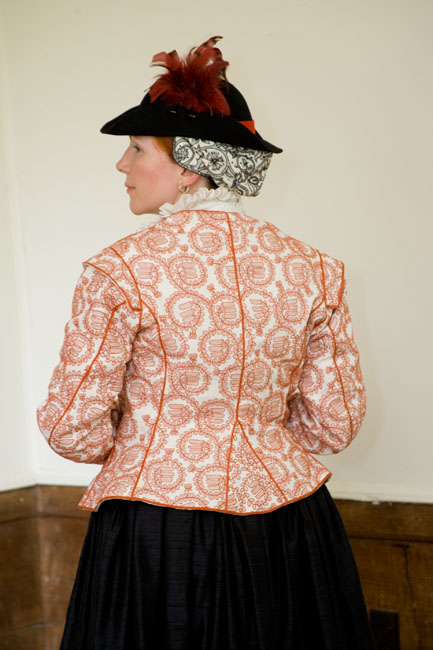 Redwork jacket made by Laura of Extreme Costuming