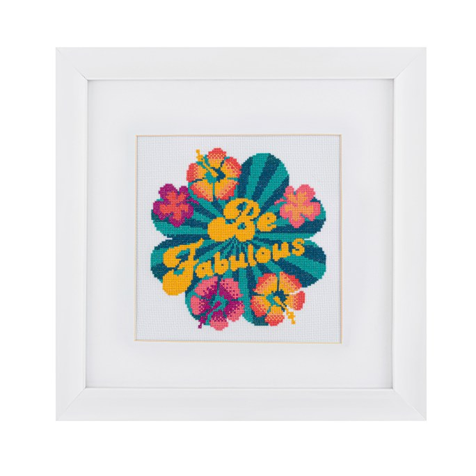 Be Fabulous Cross Stitch Kit | STITCHFINITY