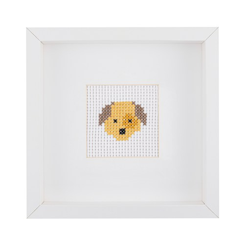 Beginner Dog Cross Stitch Kit | STITCHFINITY