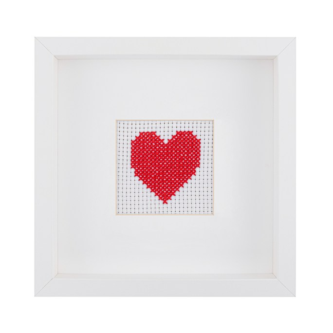 Kids Heart Cross Stitch Kit | STITCHFINITY