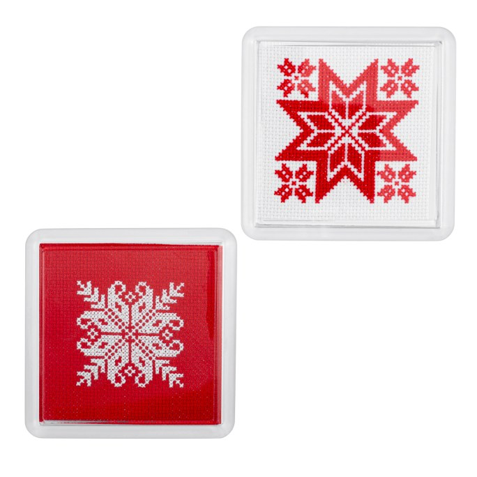 Nordic Coasters Cross Stitch Kit | STITCHFINITY