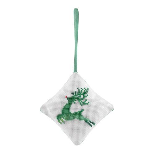 Reindeer Bauble Cross Stitch Kit   STITCHFINITY