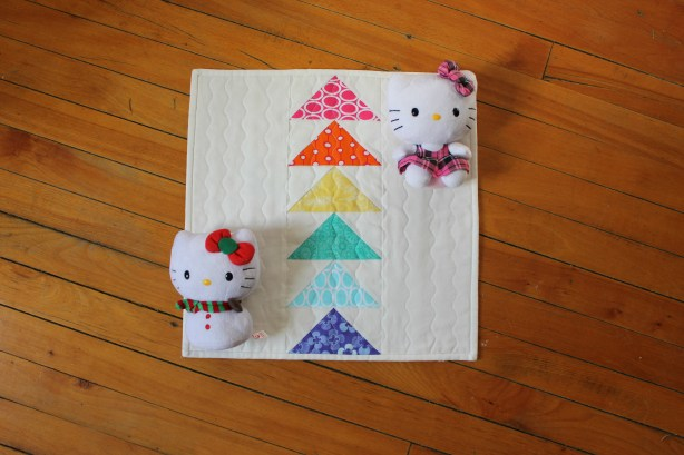 Hello Kitty Winter Sunshine Quilt by Stitchified
