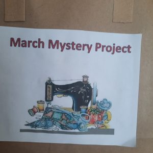 MARCH '21 MYSTERY PROJECT