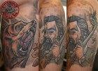 stitchpit-tattoo-hamburg-10124-bear-hunter-neotraditional