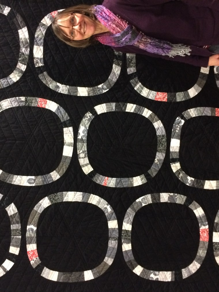 Free Wheeling Single Girl Quilt