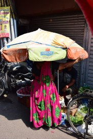 rozkvetlá Indie, trhy, Old Delhi