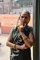 místní žena, Old Delhi