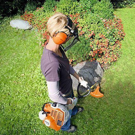STIHL FOICE A MOTOR FS 40 - em trabalho