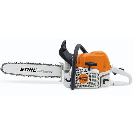 STIHL MOTOSSERRA MS 311 - Lado do arrancador