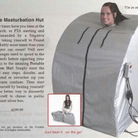 Portable Masturbation Tents