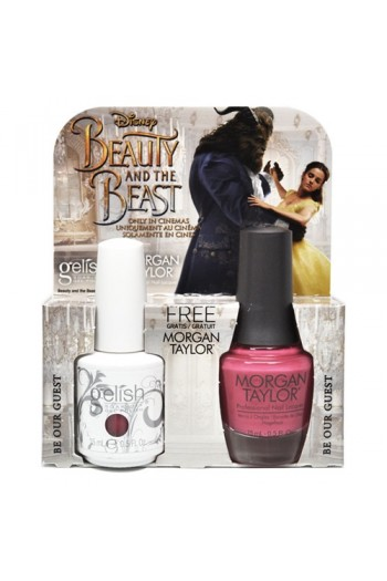Nail Harmony Gelish Man Taylor Two Of A Kind Beauty The Beast Spring 2017 Collection Be Our Guest