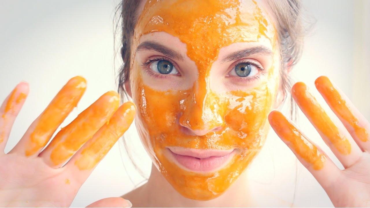 Μάσκα προσώπου με μέλι και καρότο(video)