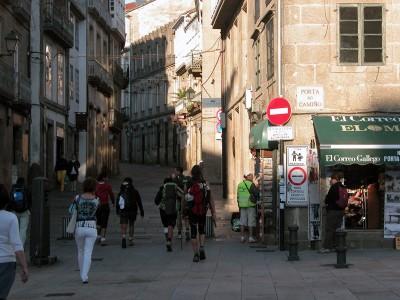 Chemin de compostelle portugais
