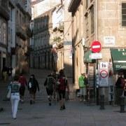 L'arrivée à Santiago