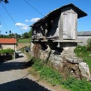 Les greniers typiques de la Galice