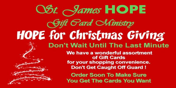 Hope Gift Cards For Christmas