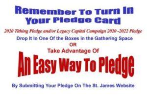 An Easy Way To Pledge - Pledge On-Line
