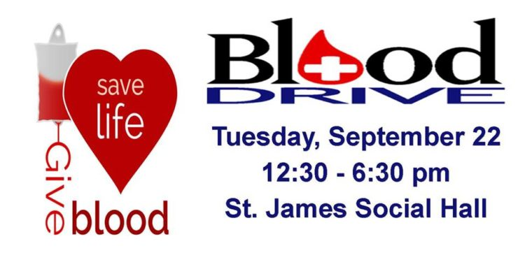 Blood Drive – July 28