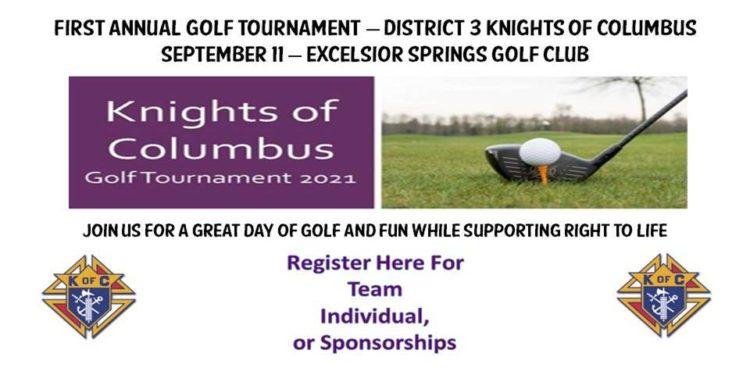 Knights of Columbus 2021 Golf Tournament