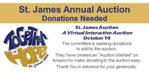 St. James Annual Auction