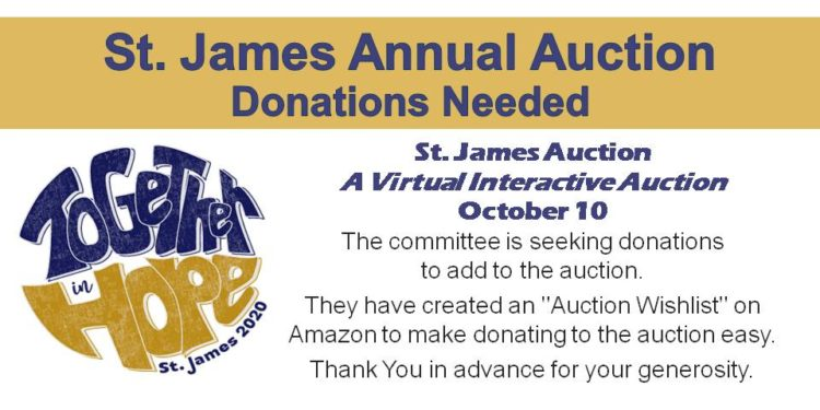 St. James Annual Auction