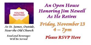 Open House Honoring Jim Newell