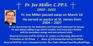 Fr. Joe Miller Funeral