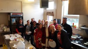 St James' Preschool Hosts Breakfast with Santa