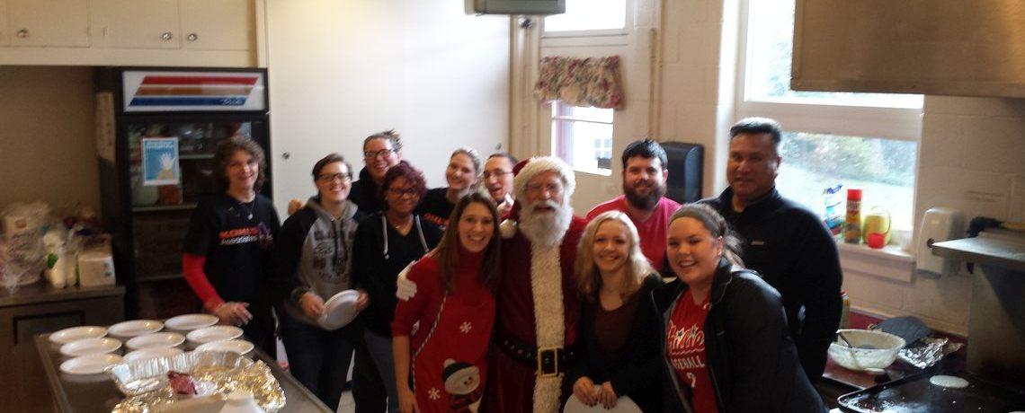 St James' Preschool Hosts Breakfast with Santa