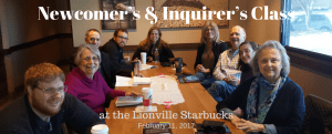 Newcomer's & Inquirer's Class